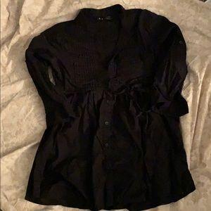 Super cute black long tunic